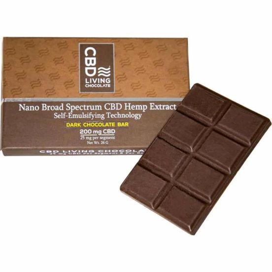 CBD Living Dark Chocolate 200mg