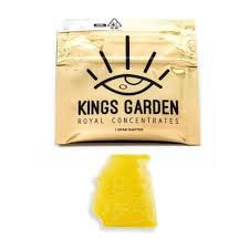 Kings Garden KGB Live Shatter (1g) ***4 Concentrates for $99 Mix-and-Match***