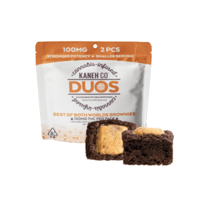 Kaneh Co - DUO Brownies - Best of Both Worlds 100mg