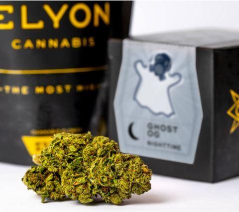 (PRE-ORDER ONLY) Ghost OG - 3.5g (27% THC) Elyon