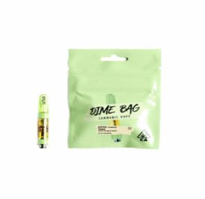 (PRE-ORDER ONLY) Lemon Cake - 1g cart (77.37%THC) Dime Bag