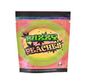 Buzzy Peaches 400mg THC - Northern Extracts