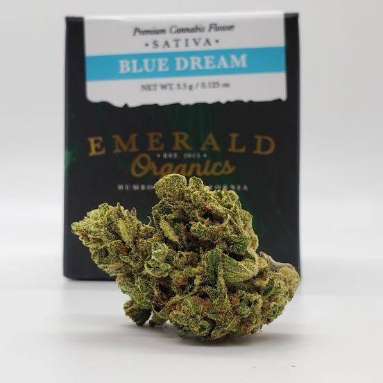1/8 Blue Dream (23.19%/Sativa) - Emerald Organics