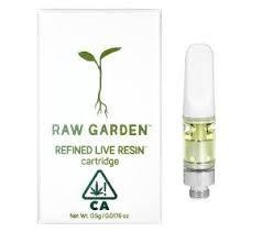 Raw Garden Cartridge 0.5g Indica 3 Bears OG