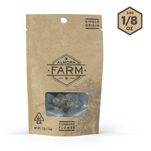 Almora Farm - Flower - Kush Mints [3.5g | eighth]