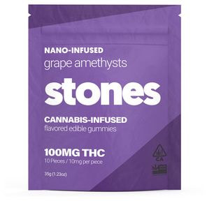 100mg Grape Gummies - STONES