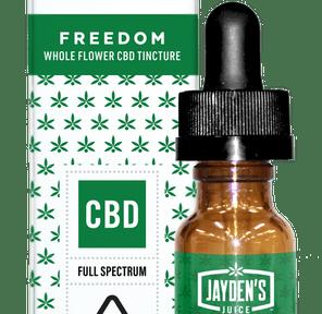 Jayden's Juice Tincture FREEDOM 420mg 20:1 CBD/THC 15mL