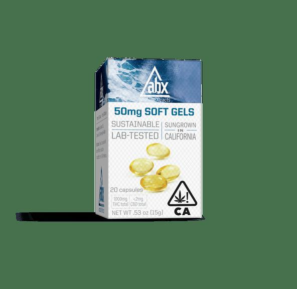 [ABX] THC Soft Gels - 50mg 20ct - Refresh