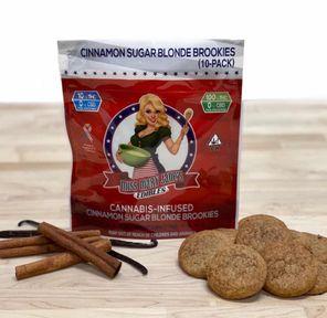 100mg Cinnamon Sugar Blonde Brookies - MISS MARY JANES