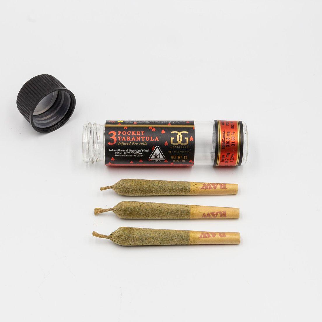 GANJA GOLD - Red Pocket Tarantula 2g - Indica