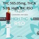 GET ZEN - HIGH THC RSO SYRINGE