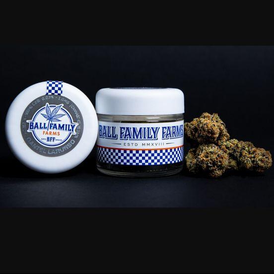 B. Ball Family Farms 3.5g Flower - Bonzai (20% THC) (Quality 9.5/10)