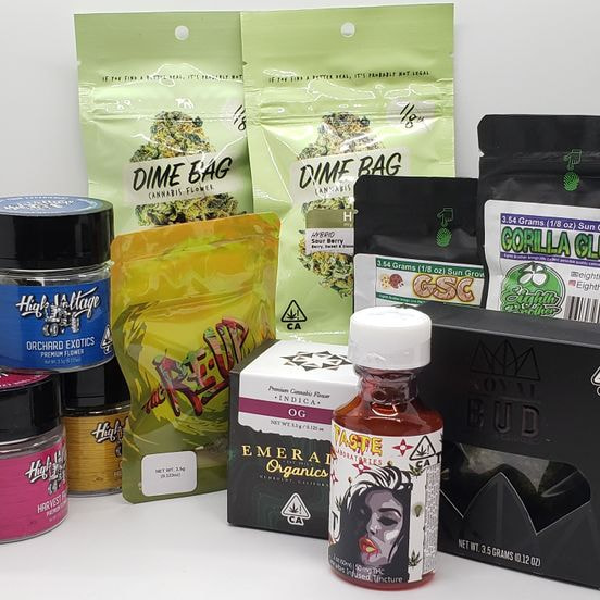 *Deal! $100 for (4) 1/8 Mix n' Match ($45 Strains Only) + 2 oz. Syrup