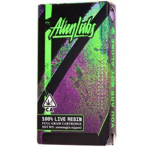 Alien Labs Cured Resin Cartridge - Baklava x Xeno 78%