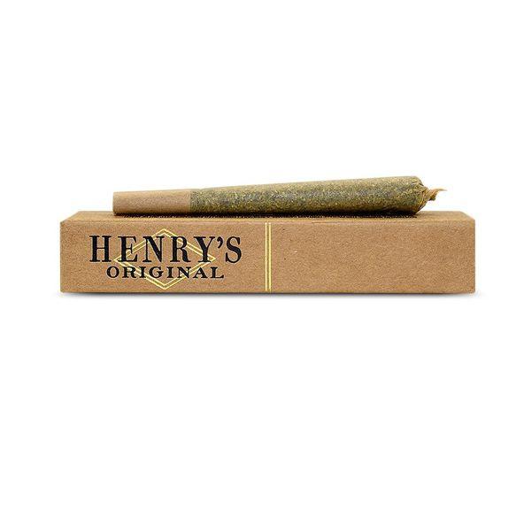 HENRY'S ORIGINAL Preroll 1.0g Hybrid Peanut Butter Breath