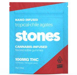 100mg Tropical Gummies - STONES