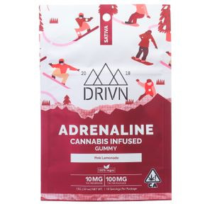 100mg Pink Lemonade Adrenaline Gummy Tray - DRIVN