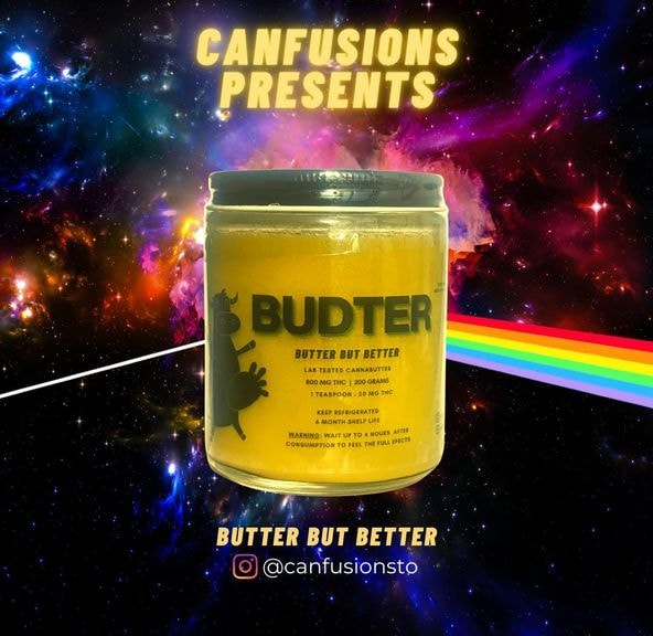 800mg THC Infused Budter by Canfusions