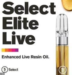 Select Live Resin .5g - White Strawberry x Lemon Tree 81%