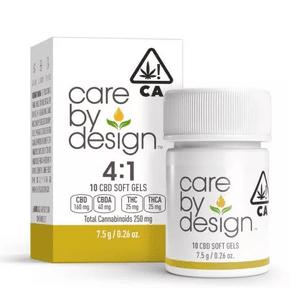 [Care By Design] CBD Soft Gels - 4:1 - 10ct
