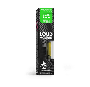 ABX Loud & Clear Gorilla Snacks 1G Cartridge 67.5%