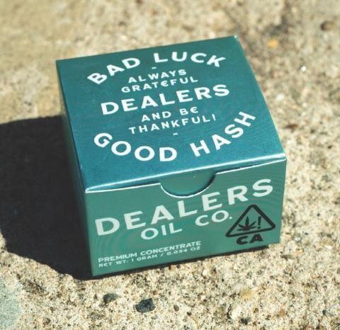 DEALER'S OIL CO. - PURPLE LARRY BUDDER - 1G - 83.3%
