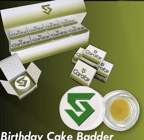 5CARATS - BIRTHDAY CAKE BADDER LIVE RESIN 66.4%THC