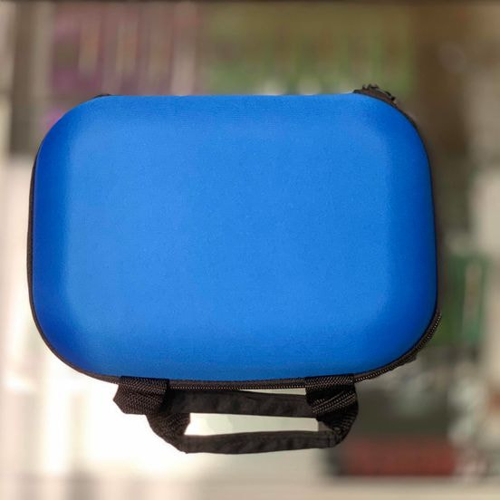 Glass Pipe Travel Case - Blue