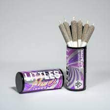 LITTLES FLAVES - GRAPE APE SIX .5 GRAM INFUSED PRE ROLL PACK