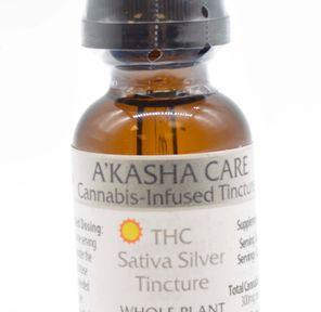 AC THC Sativa Silver Tinc 300mg