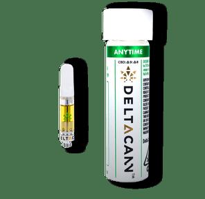 Deltacann - THC/CBD Cartridges (500mg) - Anytime Gelato