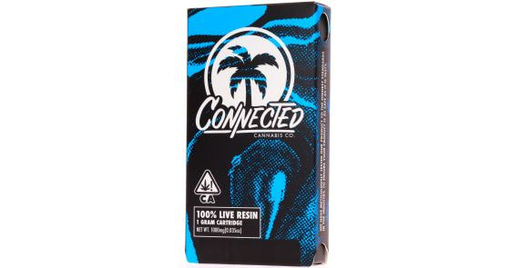Connected Live Biscotti X Gushers 1g Cart