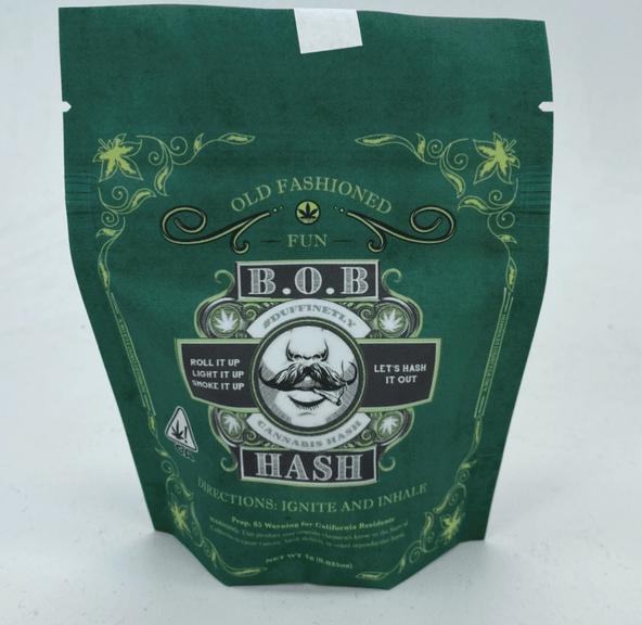 Blueberry Temple Ball - 1g Hash (THC 62%) by BOB Stash