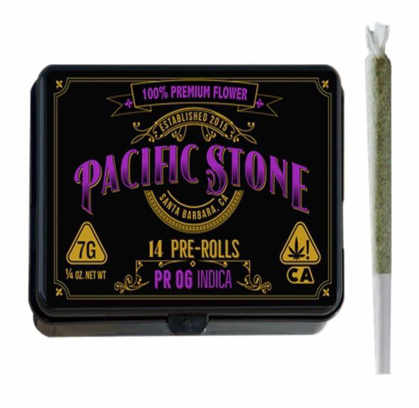Pacific Stone Preroll 0.5g Indica Private Reserve OG 14-Pack 7.0g