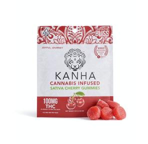 Kanha: Infused Gummies - Cherry (Sativa), 100mg