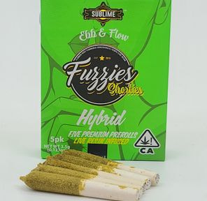 Hybrid 5pk - 3.5g Live Resin Infused Pre-rolls (THC 43% ) by Sublime