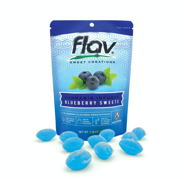 FLAV - Hard Candy - Blueberry 100MG