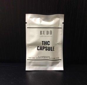 BUDO THC Capsules 5x20mg