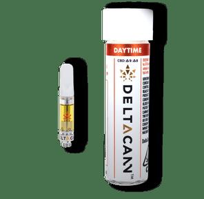 Deltacann - THC/CBD Cartridges (500mg) - Daytime Clementine