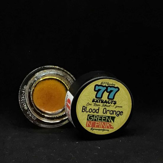 77 EXTRACTS/GREEN N' PINK BLOOD ORANGE LIVE RESIN