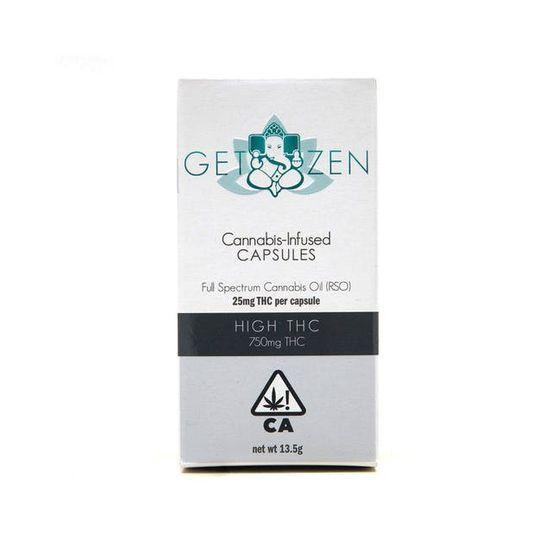 Get Zen - High THC 30ct Bottle