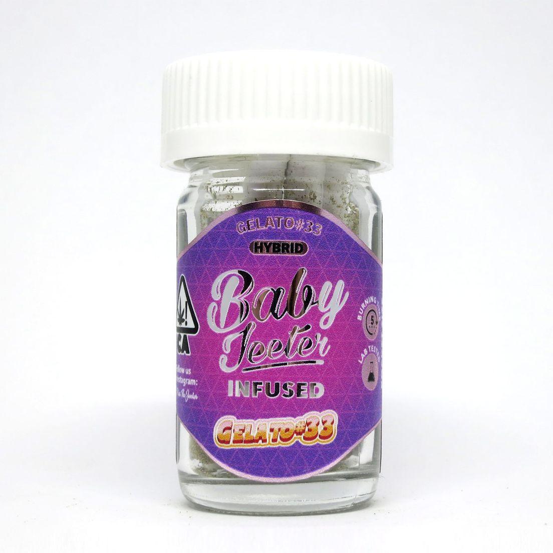 BABY Jeeter Infused 5pk Gelato #33