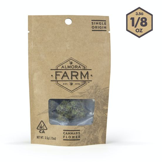 Almora Farms Legend OG 3.5g 26.60%