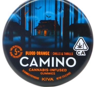 [Camino] THC Gummies - 100mg - Blood Orange