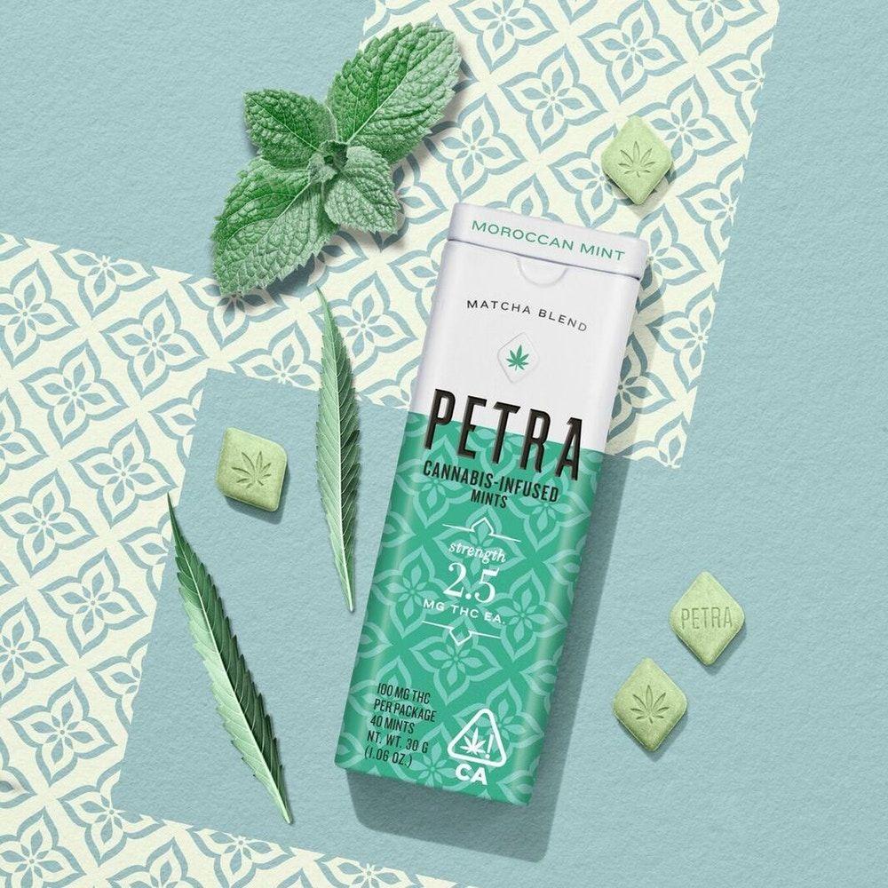 """*Petra Micro-dosing Mints 100mg """"Moroccan Mint"""""""