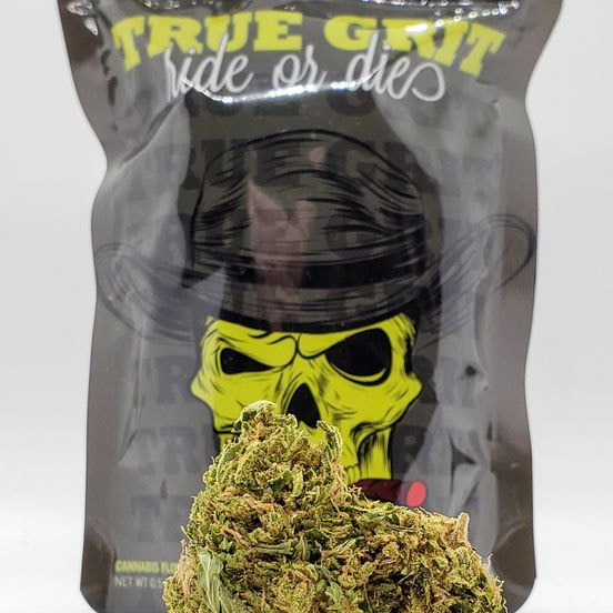 *Deal! $75 1/2 oz. California Gas (28.92%/Indica) - True Grit + Syrup