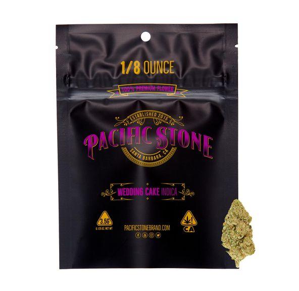 Pacific Stone Flower 3.5g Pouch Indica White Runtz
