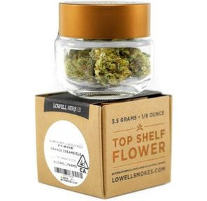 B. Lowell 3.5g Flower - Quality 8/10 - Lemon Lush (~23% THC)