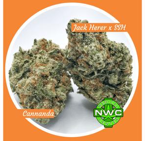 2395 - Jack Herer X Super Silver Haze Buds By: Cannananda