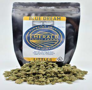 Blue Dream - 14g Smalls (THC 20.96%) by Emerald Family Farms